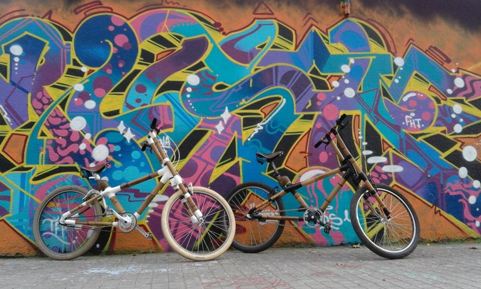 Street Art Barcelona Bamboo Bike Tour