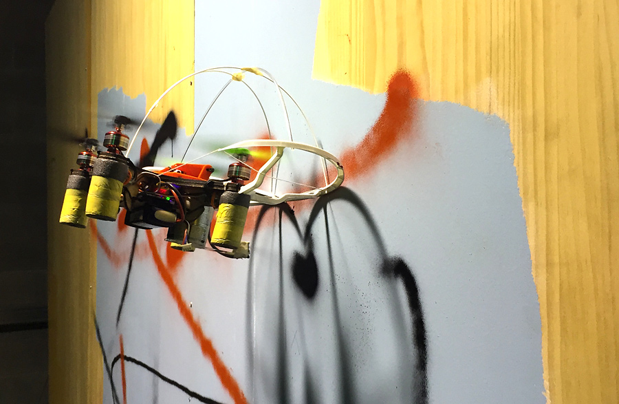 Taller de graffiti con drones
